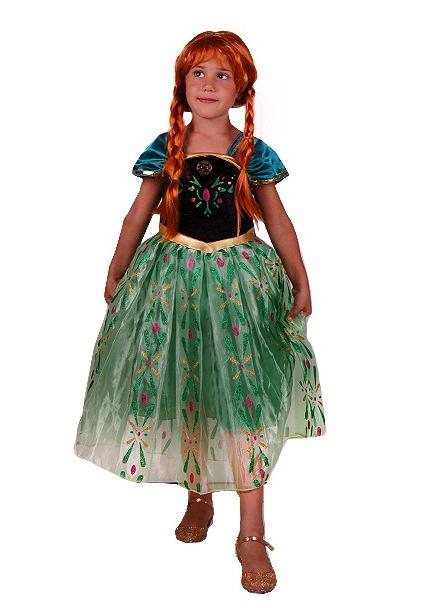 Карнавальное платье принцессы Анны