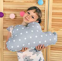 Подушка Облако Серое с Мятой