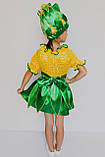 Карнавальный костюм для девочек  Кукуруза, Кукурузка, фото 3