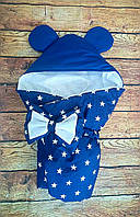 Конверт-одеяло на выписку Микки Маус 78х78см, фото 1