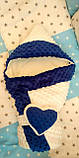 Зимний конверт-одеяло на выписку для девочки, фото 9