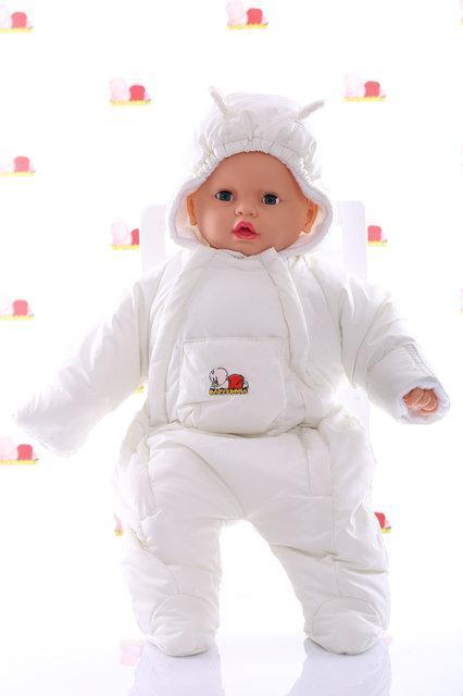 Демисезонный комбинезон человечек для новорожденных