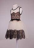 Детское  платье с фатиновой юбкой  и кружевом, фото 3