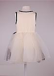 Детское  платье с фатиновой юбкой  и кружевом, фото 4