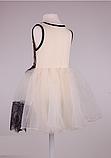 Детское  платье с фатиновой юбкой  и кружевом, фото 5