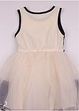 Детское  платье с фатиновой юбкой  и кружевом, фото 6
