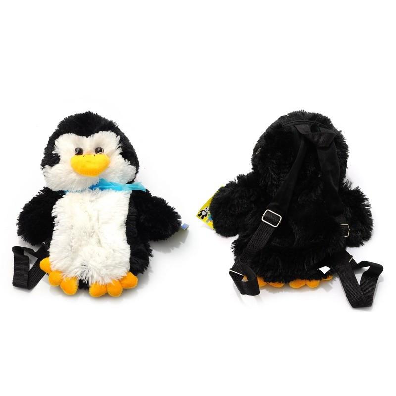 Рюкзак - игрушка пингвин 36х15х13 см,    ВИК НАТ