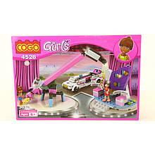"""Конструктор для девочек  """"Girls"""" COGO 4528 Съемочная площадка"""