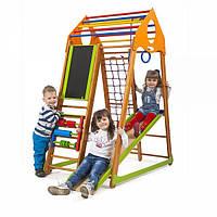 Детский спортивный комплекс BambinoWood Plus ( спортивний куточок )