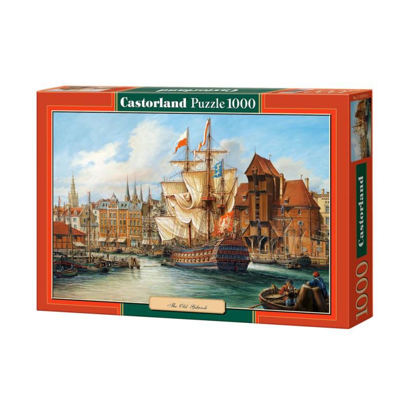 "Пазлы  1000 ""Порт""   Castorland"