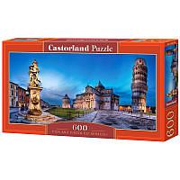 """Пазлы  600 """"Пизанская башня""""   Castorland"""