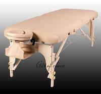 Массажный стол TOR складной двухсекционный деревянный, массажный стол TOR премиум класса ART OF CHOICE