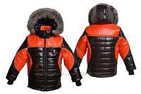 Детская зимняя куртка на  мальчиков
