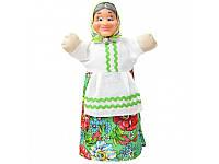 """Кукла - перчатка """"Бабка""""  для кукольного театра"""