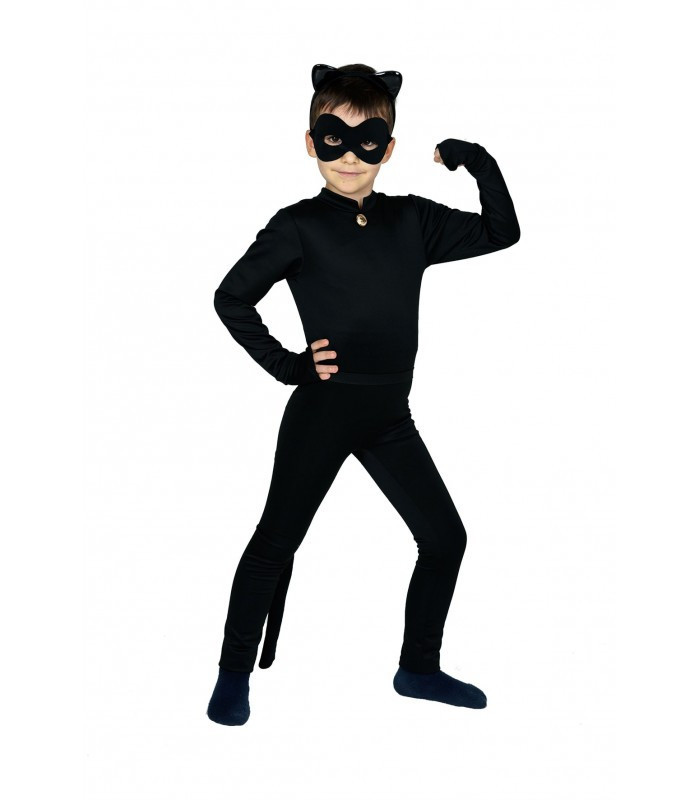 Детский карнавальный костюм  Супер Кот