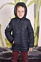 Зимняя теплая  синяя  куртка   для мальчика, фото 1