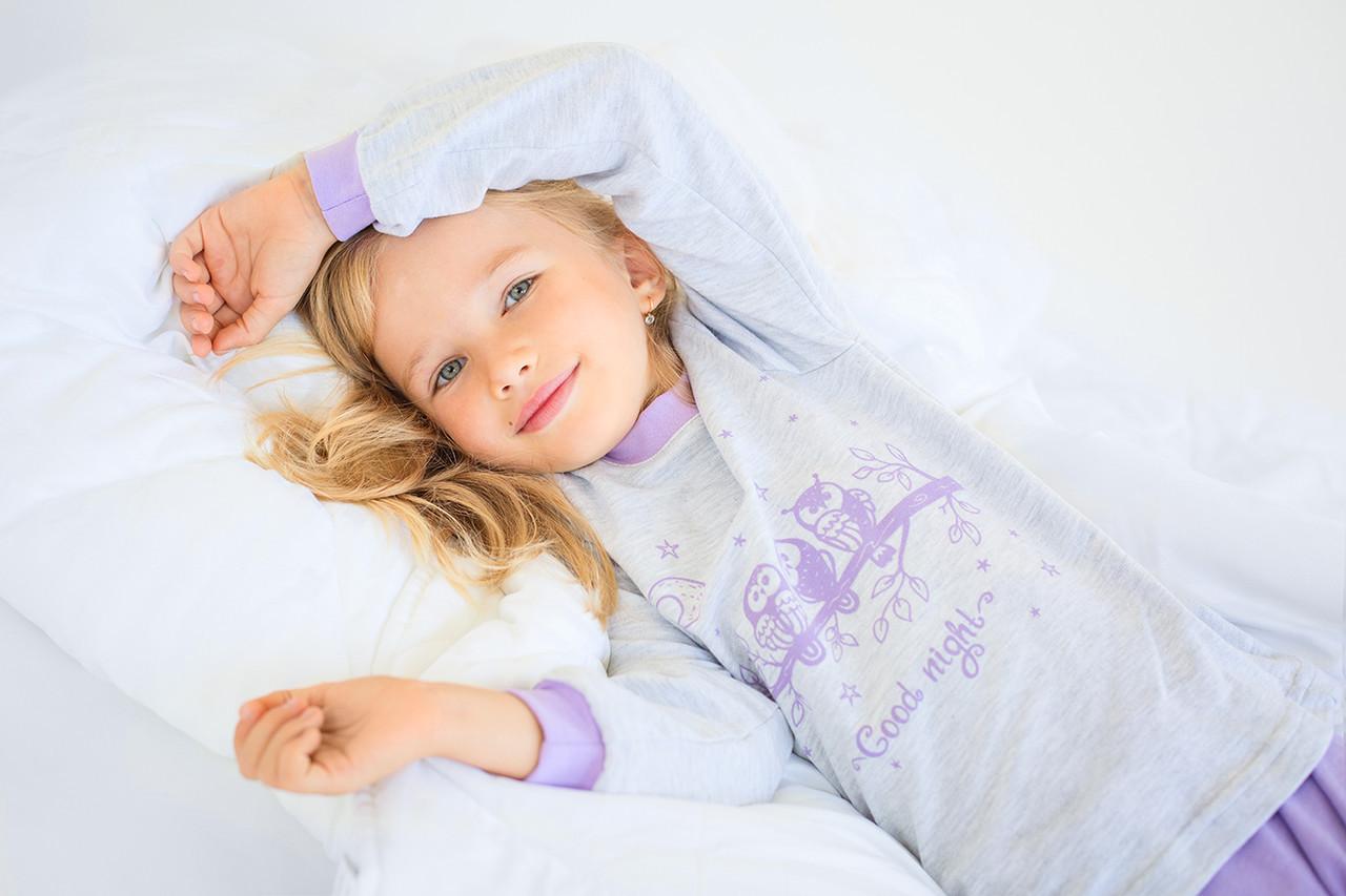 Пижама для девочки  Совушки  116 рост