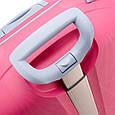 Средний чемодан из пластика на колесах 70 л Roncato Light, фото 5