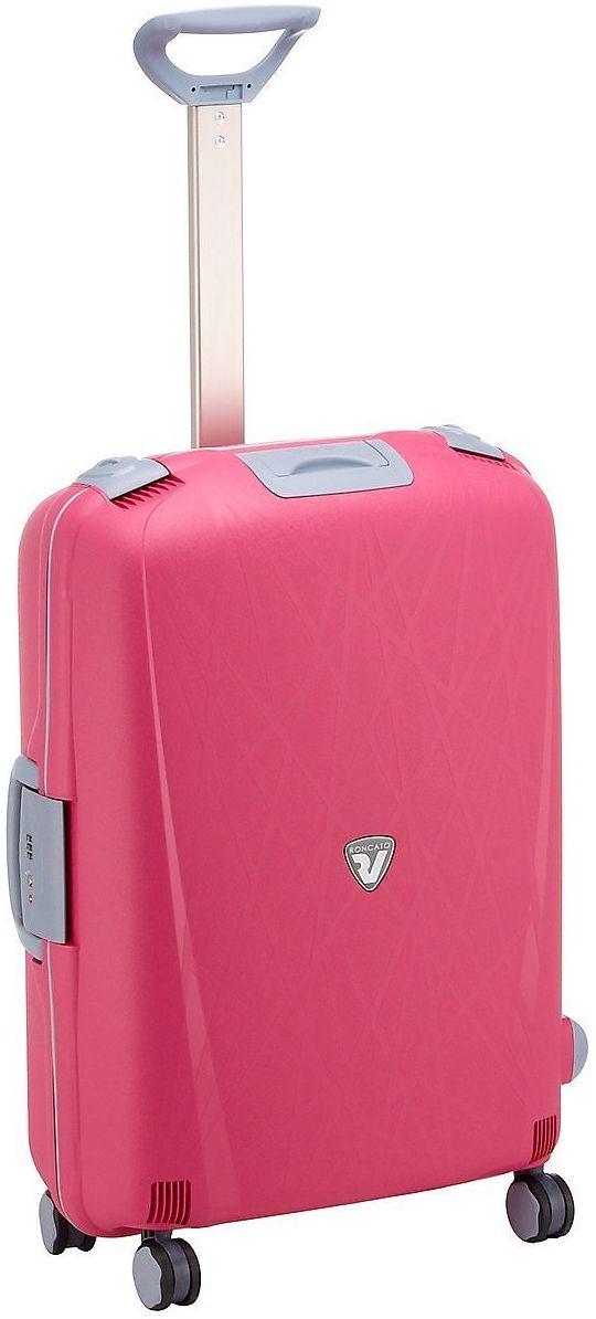 Средний чемодан из пластика на колесах 70 л Roncato Light