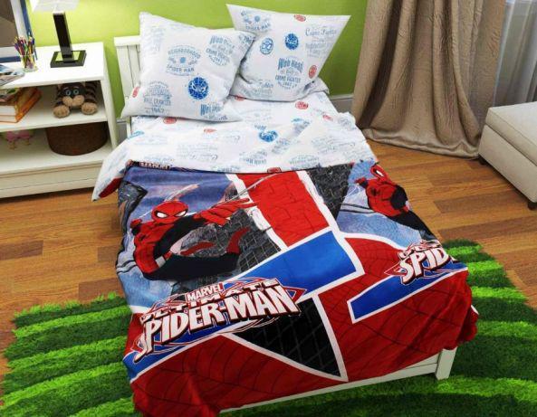 Комплект детского постельного белья  СпайдерМен (Человек-Паук)