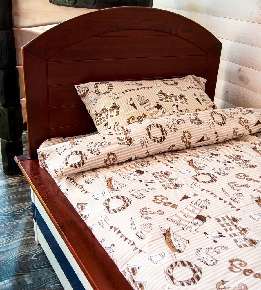 Полуторный  детский комплект постельного белья  Море
