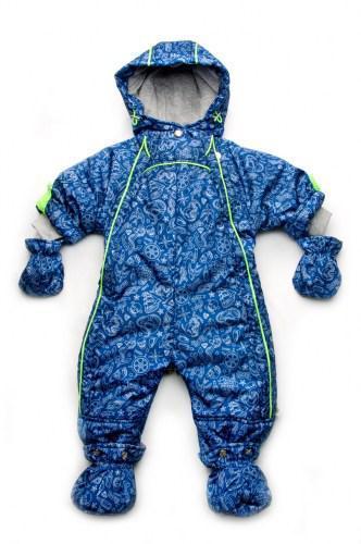 Комбинезон-трансформер для мальчика демисезонный  синий