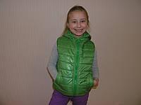 Жилетка детская зеленая, фото 1