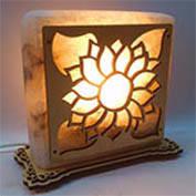 Соляной светильник квадрат