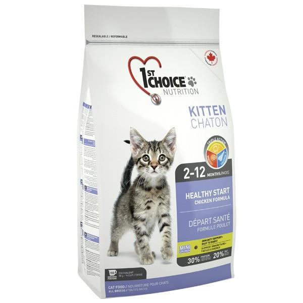 Сухой корм для котят 1st Choice Kitten со вкусом курицы 0.35 кг