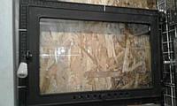"""Дверцы(дверки )для камина 600*400  со стеклом  """"Классические"""", фото 1"""