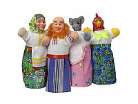 Кукольный театр  Курочка Ряба,    4 персонажа