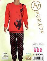 Пижама  с котиком  для девочки  8-13 лет Nicoletta