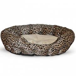 Лежак для собак и кошек K&H Nuzzle Nest самосогревающийся 48x48x15 см