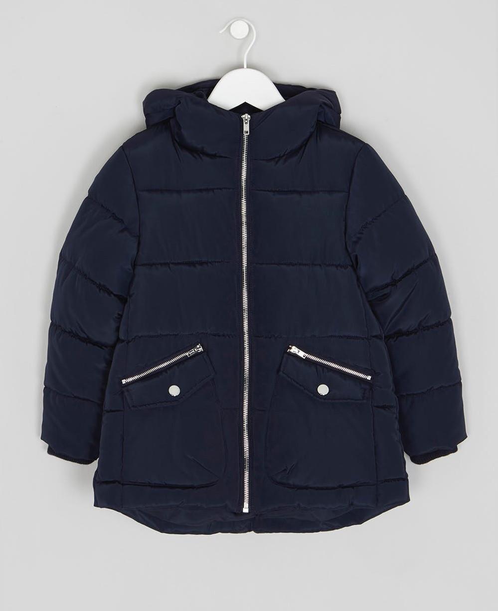 Демисезонная куртка для девочки синяя Matalan Англия Размер 110, 116, 128, 134