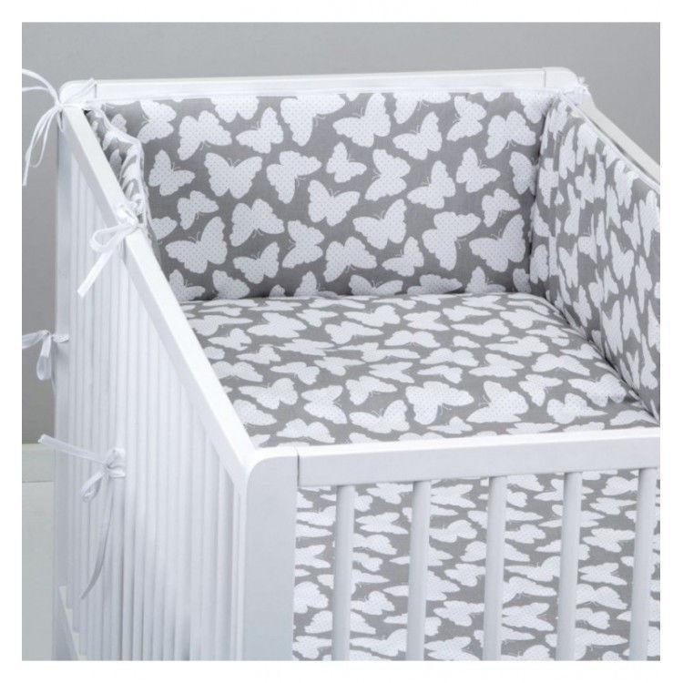 Комплект в кроватку  Бабочки, 11 предметов