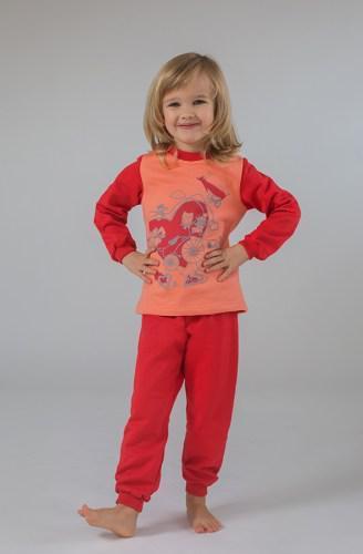 Пижама детская утепленная для девочки
