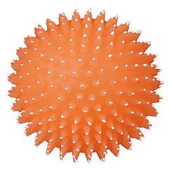 Мяч Trixie Moonlight для собак виниловый, с шипами, 10 см