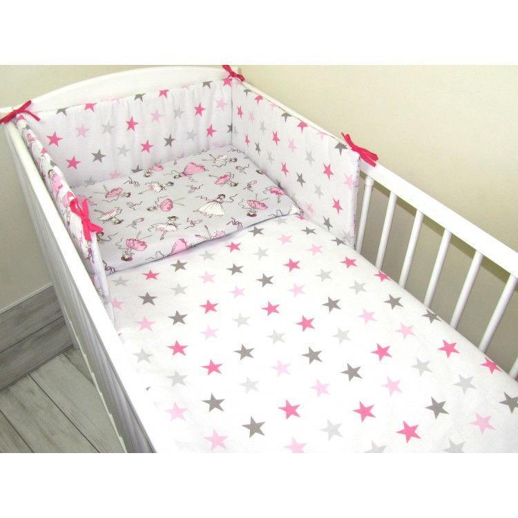 Комплект в кроватку  для девочек  Золушка 11 предметов