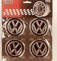 Наклейки з логотипом VW 60 мм Sahler SAK 06