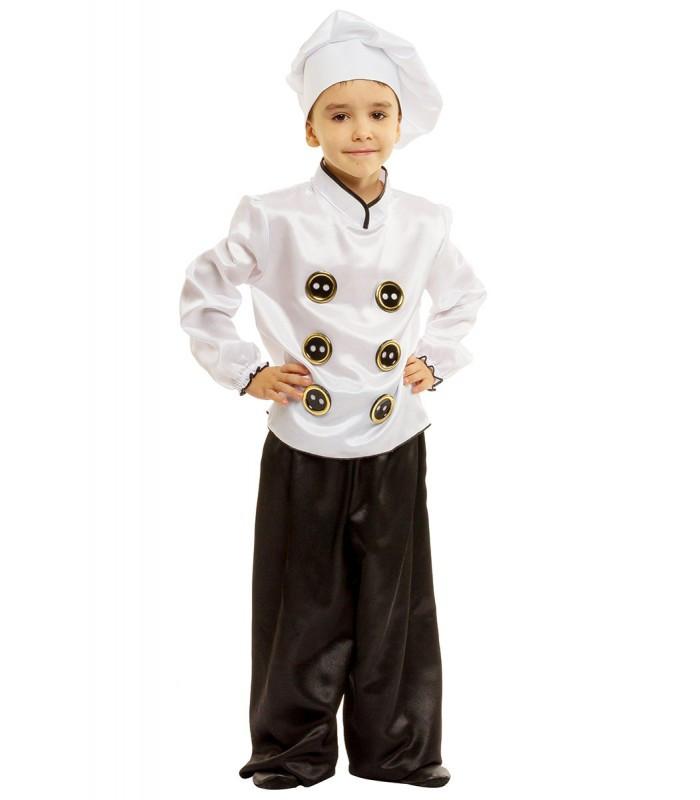 Карнавальный костюм  Повар, Поваренок