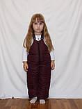 Зимний костюм  куртка и штаны для девочек 2-5 лет, фото 6