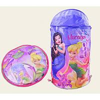 Корзина для игрушек Принцессы  D-3504 высота 60 см