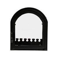 Каминные дверцы Виолета 460x500 мм Для печи барбекю