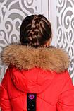 Практичное зимнее пальто для девочек Мишель, фото 10