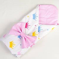 Летний конверт - одеяло   Принцесса 80 х 85 см , фото 1