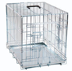 Клетка для собак Karlie-Flamingo Wire Cage двухдверная, 120х76х82 см
