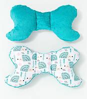 Подушка – позиционер детская  Мятные ежики 32 х 24 см