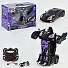 Машина-трансформер на р/у JQ6603 Jaki фиолетовая на аккумуляторах со звуком и светом