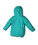 Коралловая демисезонная  курточка   для девочек от 1 до 4 лет, фото 5
