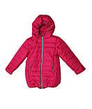 Коралловая демисезонная  курточка   для девочек от 1 до 4 лет, фото 8